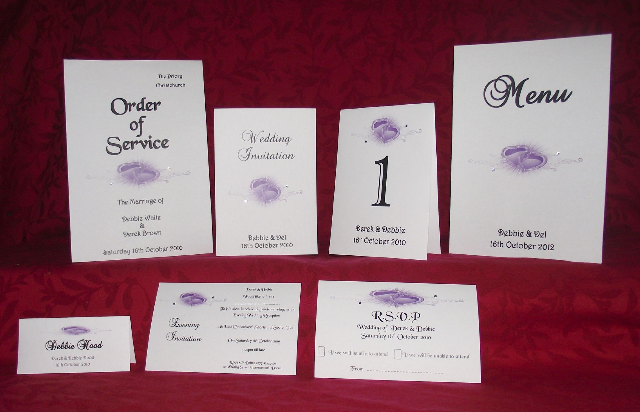 Wedding Seating Planner Table Plan Double Heart Many Colours ...